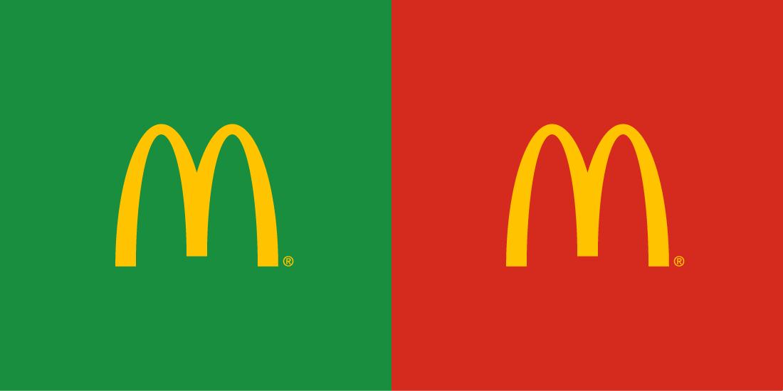 McDonald's kolory marki
