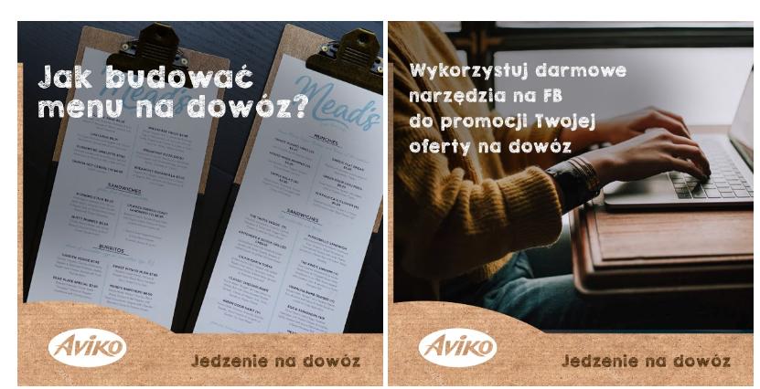 Przykładowe posty dla marki AVIKO HoReCa