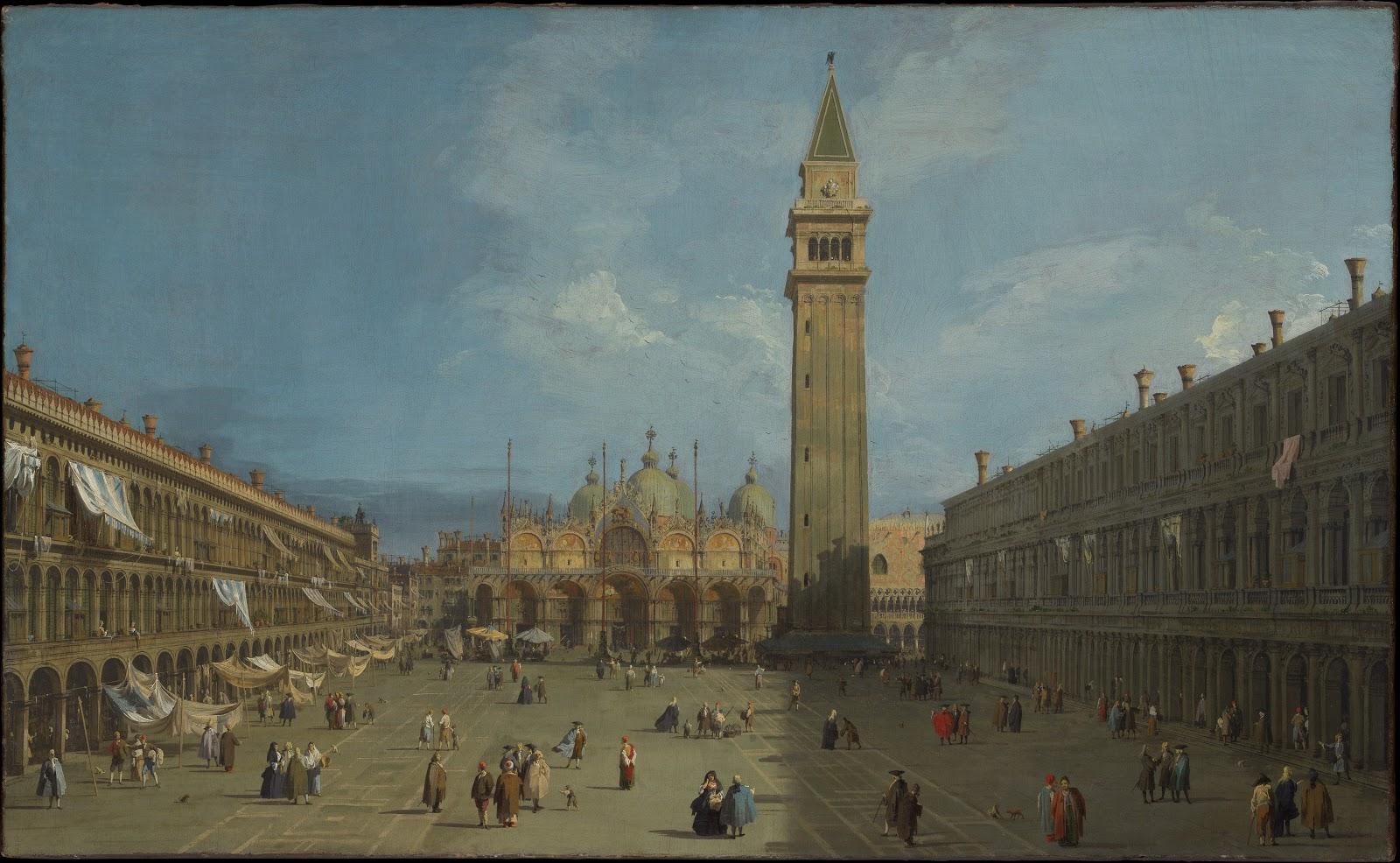 Giovanni Antonio Canal – Piazza San Marco