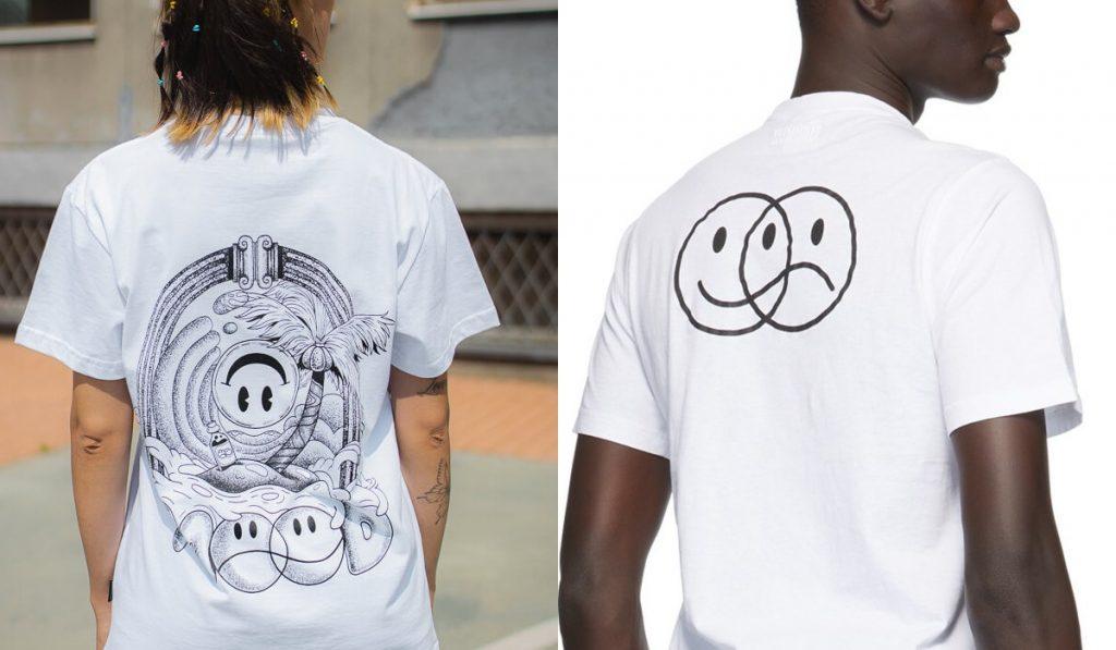 Koszulka Ekipy iVetemens - różnice wtyle