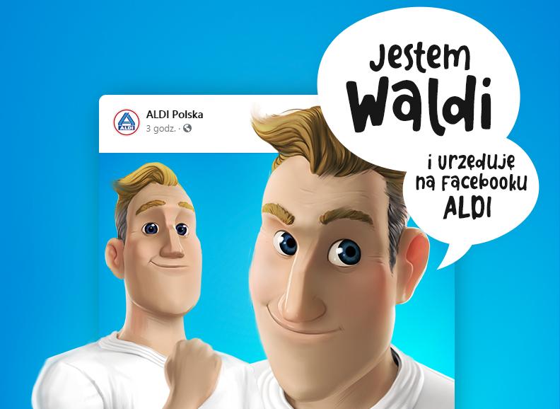Waldi w Aldi na Facebooku