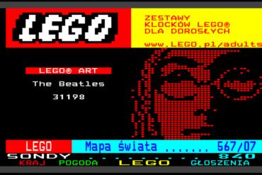 Zestaw LEGO 18+