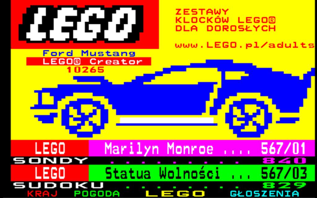 Lego 18+